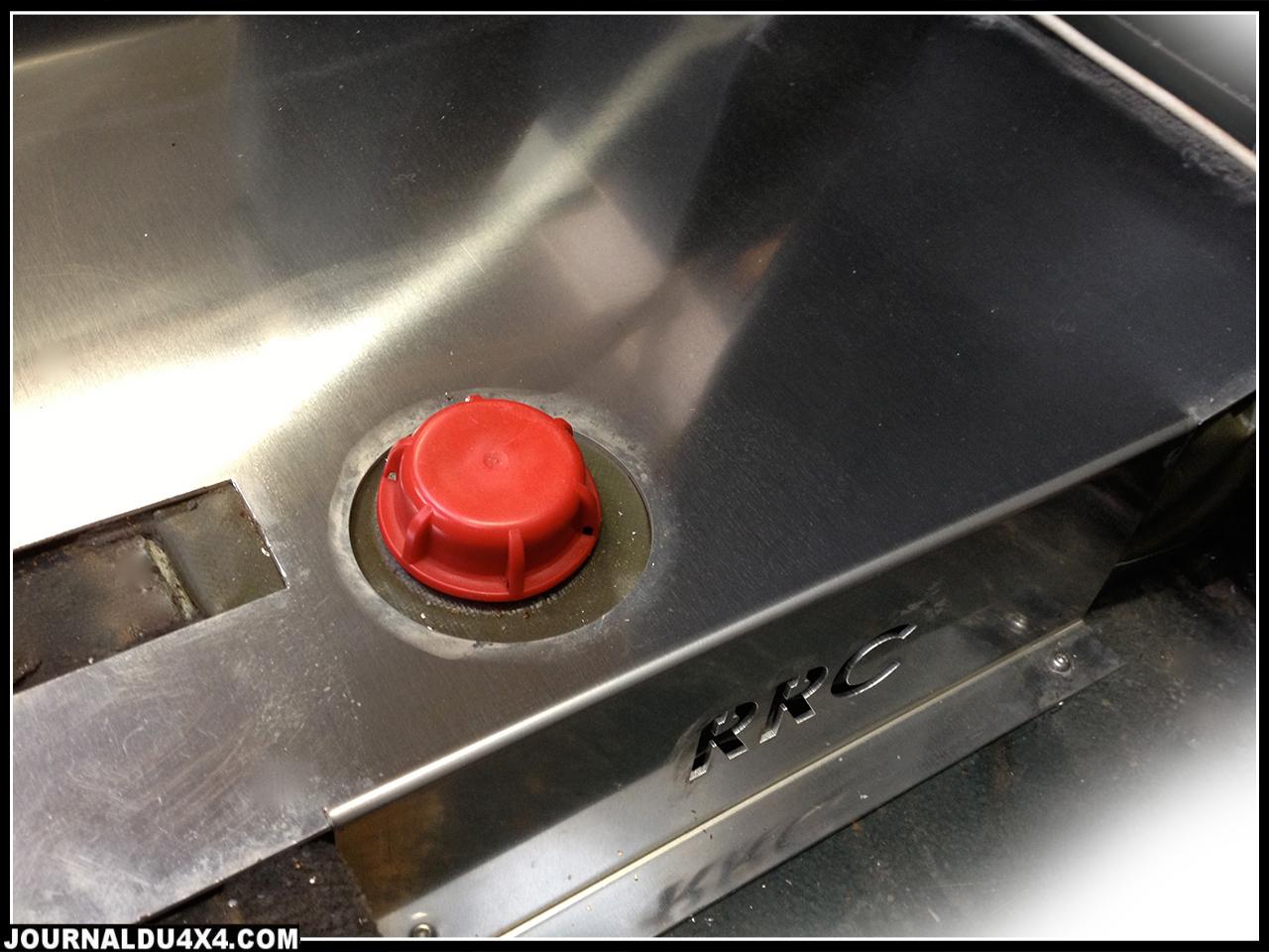 réservoir d'eau souple pour Defender 110 4 portes