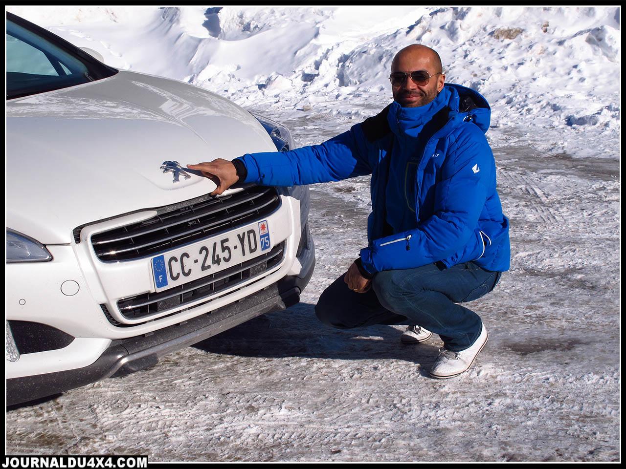 Certes nous ne sommes pas en présence d'un 4x4 pur et dur, mais il convient de saluer l'avancée technique de Peugeot en la matière