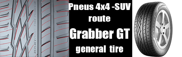Pneus 4×4 -SUV route Grabber GT
