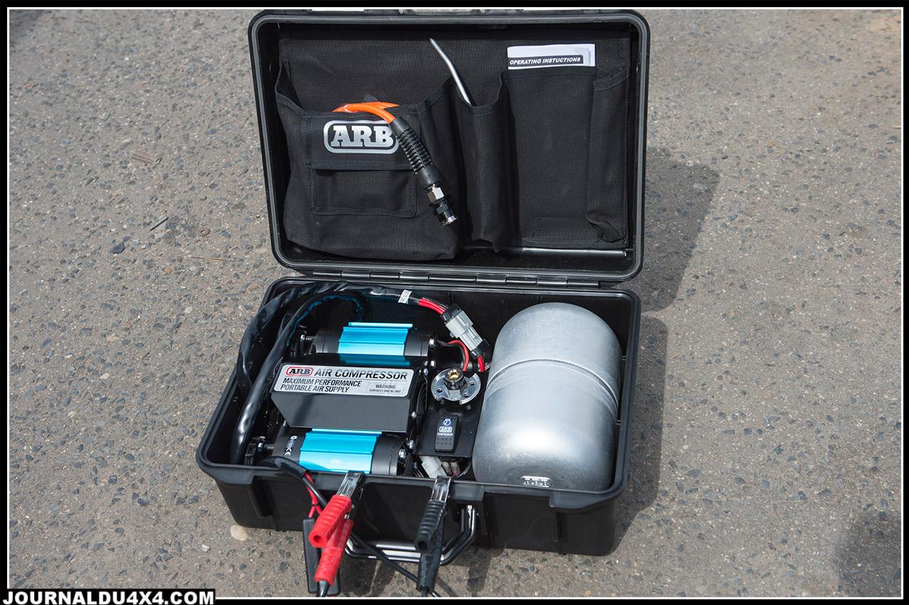 Compresseur double ARB avec réserve d'air performant et compact