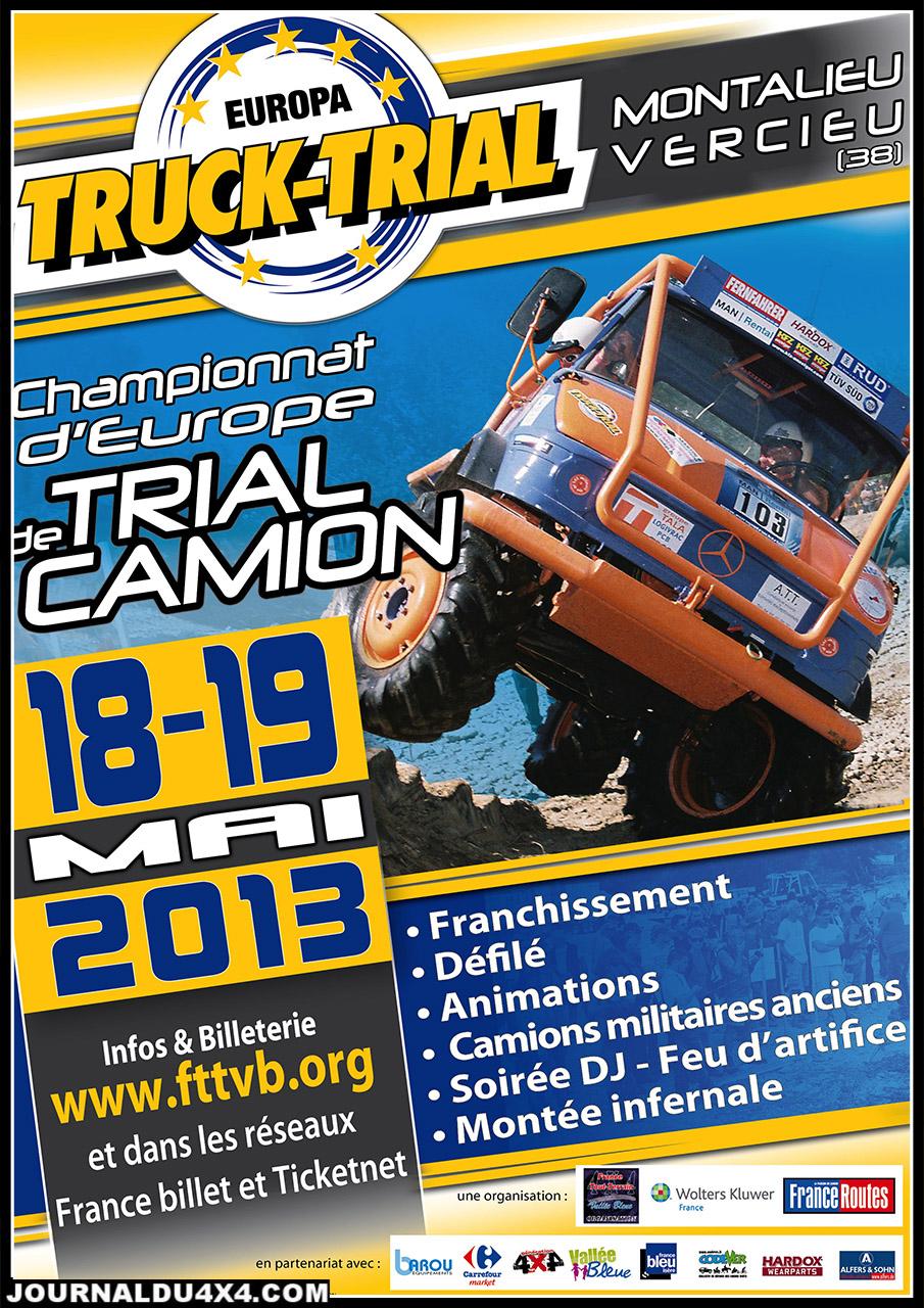 europa truck trial 2013 18 & 19 MAI 2013 à Montalieu