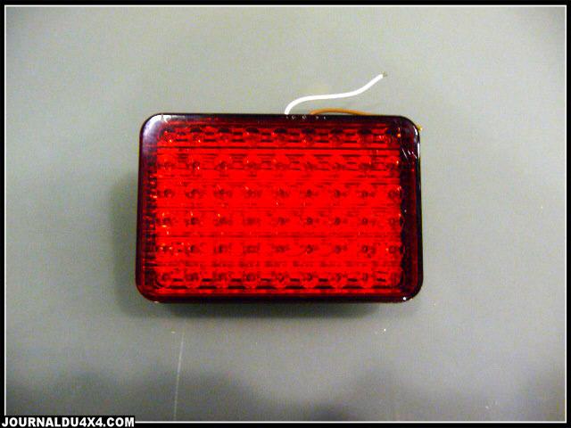 Feu arrière à LED pour 4x4