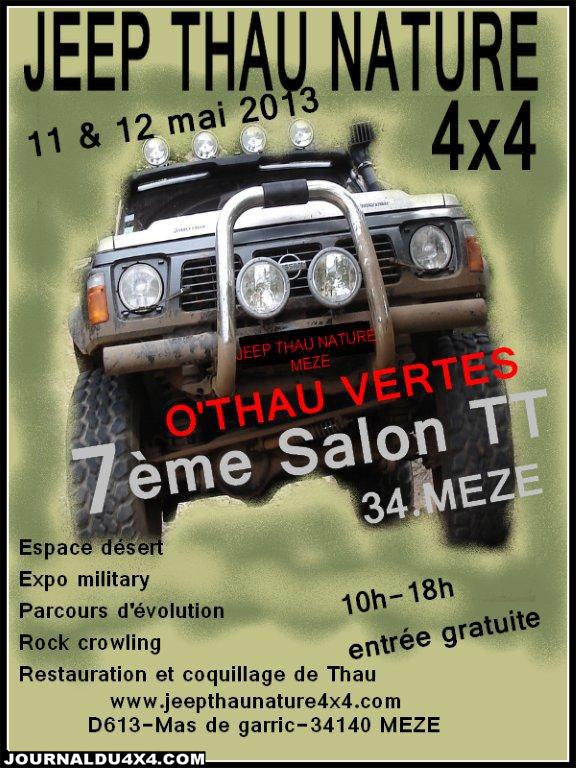 SALON O'THAU VERTES 11 – 12 Mai 2013