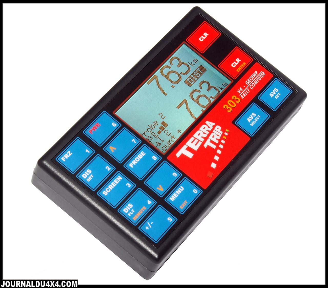 Terratrip 303 Geotrip + GPS