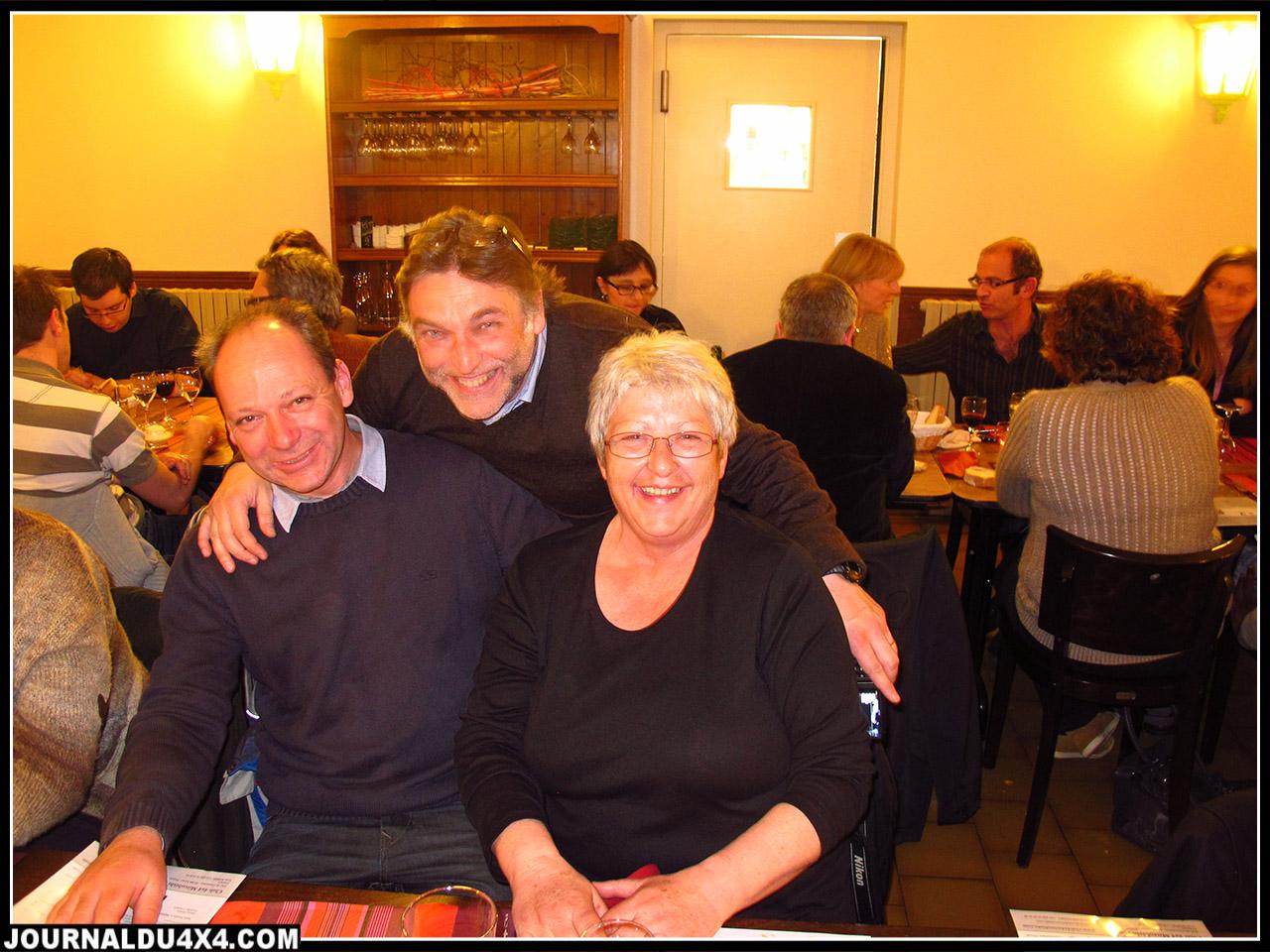 Avec Hervé Berdah et Christophe Boulocher de Technicauto