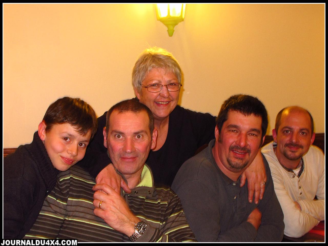 Avec l'équipe d'Européan Pilotage