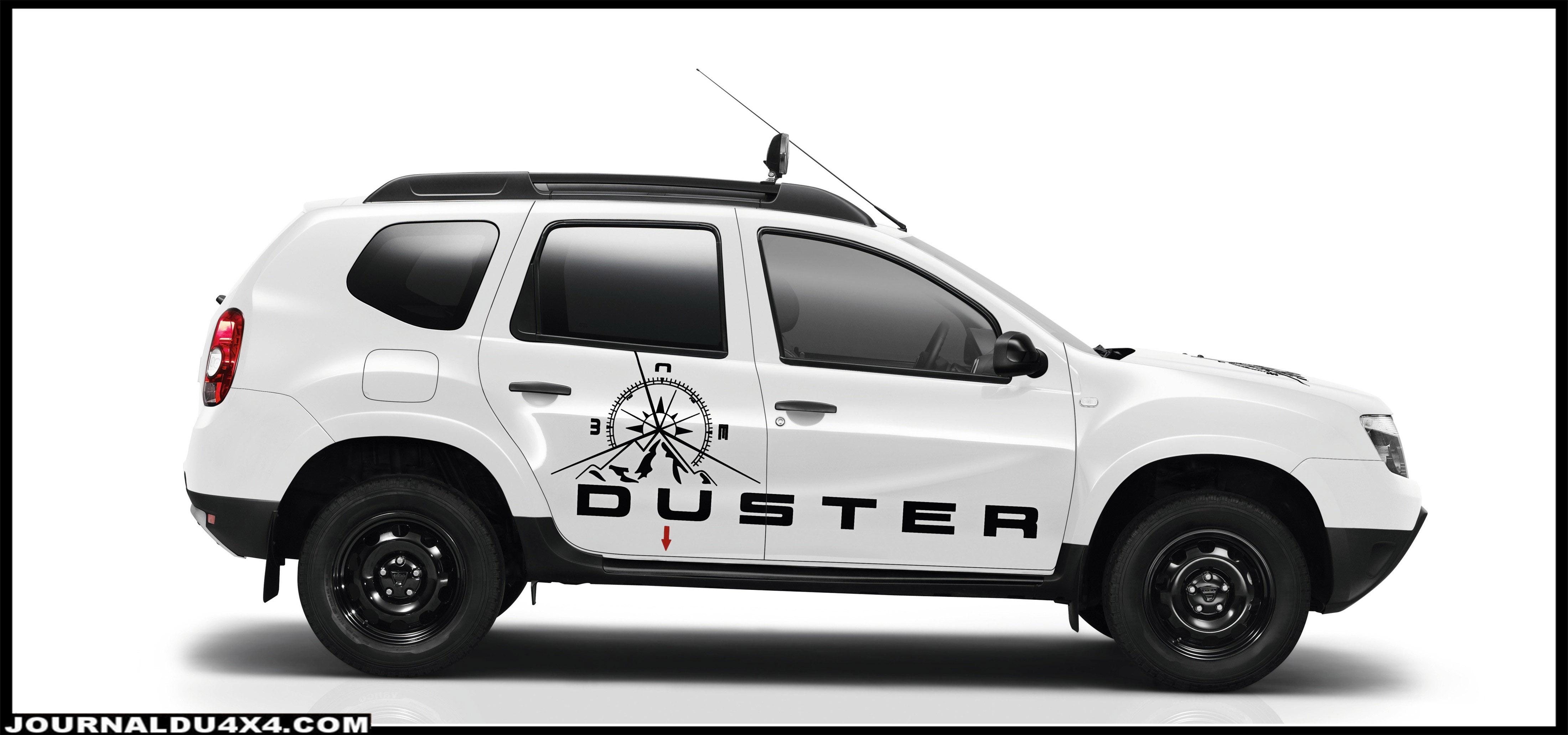 SUV proposé en version 4x2, Duster Aventure est également disponible en version 4x4, pour aller encore plus loin en tout-terrain.