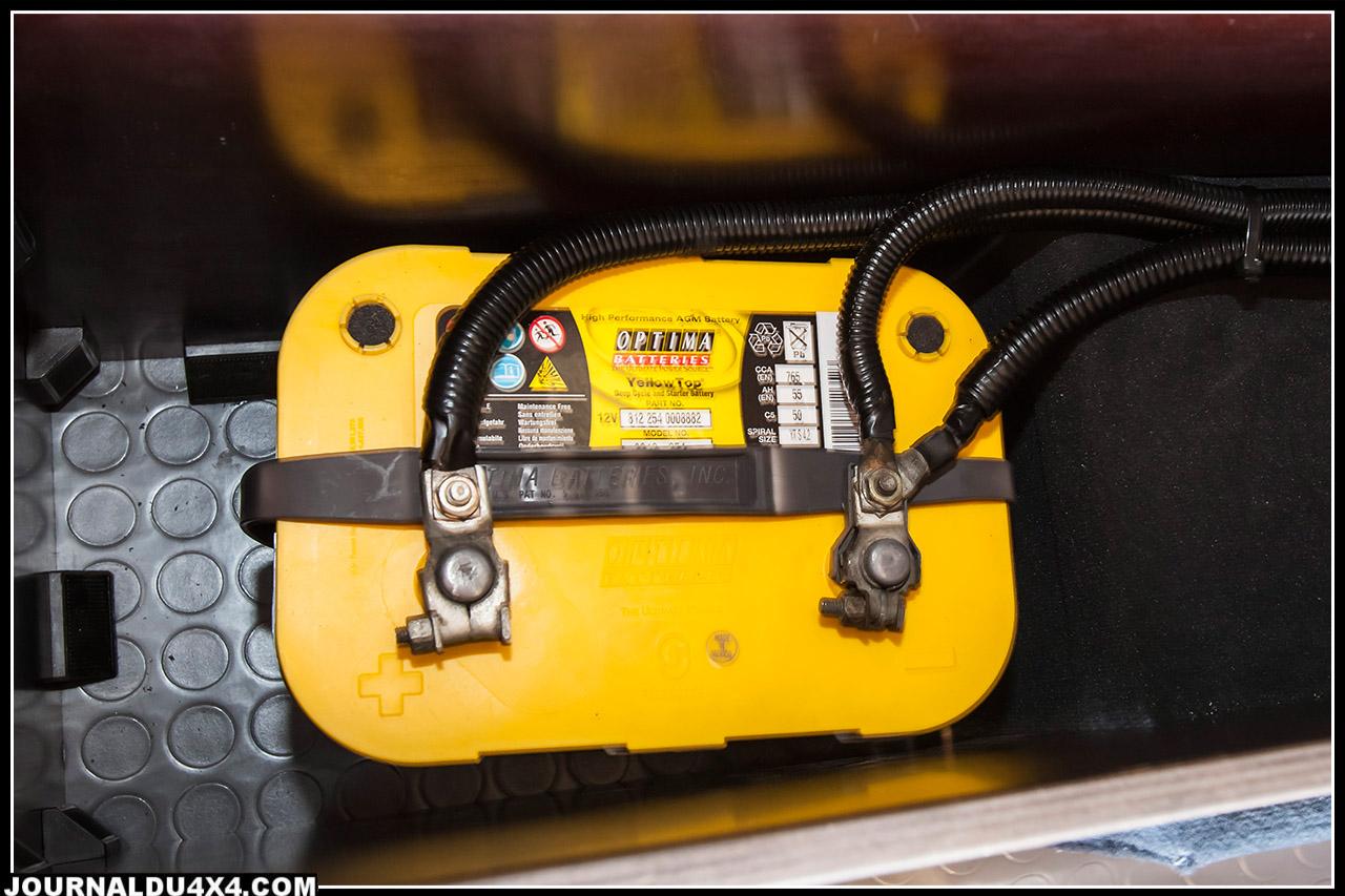 batterie pour fournir l'électricité