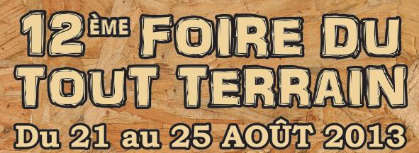 Foire du tout terrain à Valloire (73) du MERCREDI 21 août au DIMANCHE 25 août 2013
