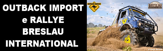 OUTBACK IMPORT e RALLYE BRESLAU INTERNATIONAL