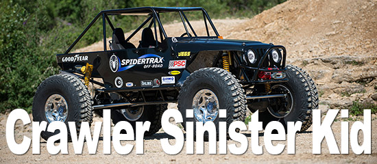 Crawler Jeep Spidertrax Sinister Kid de Sylvain
