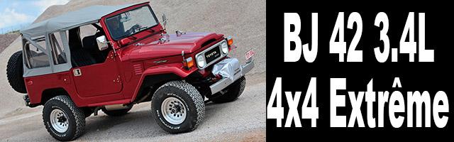 BJ 42 3.4L de 4×4 Extrême