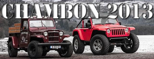 Chambon / jeep 2013 Jeep AOC photos et reportage