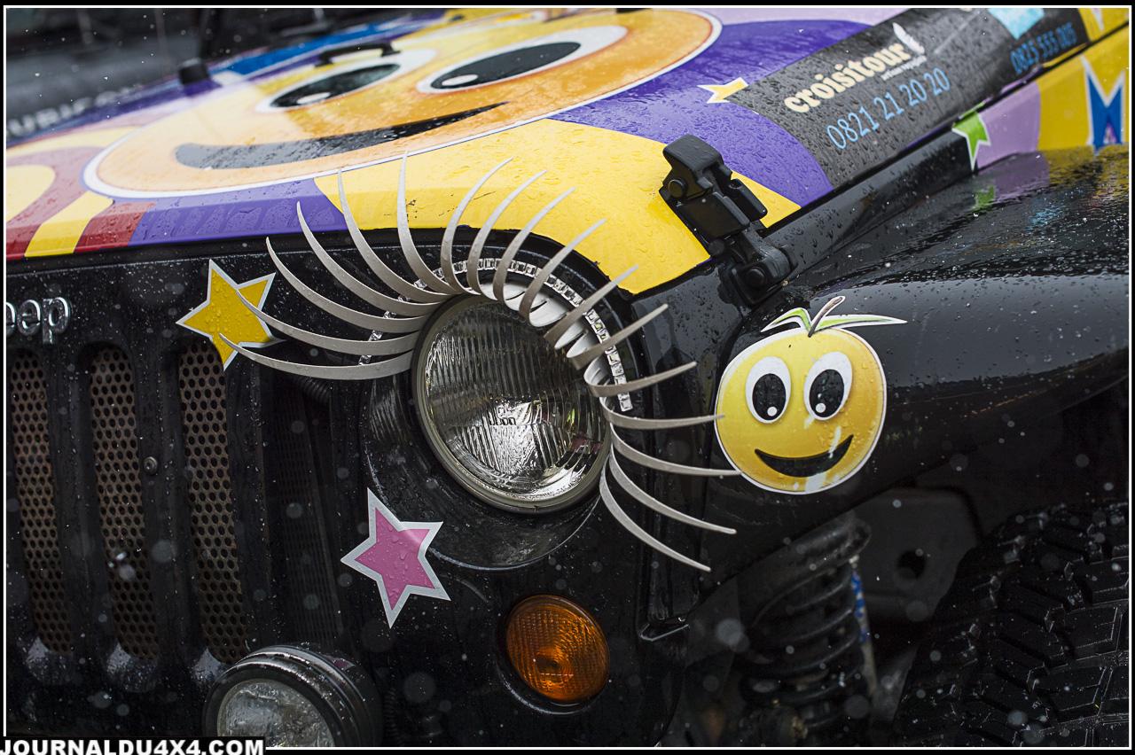Les Jeeps se font belles