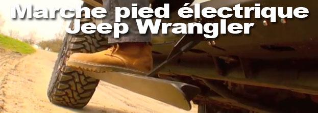 Marchepied Wrangler Step slider R-SE by Indiancars