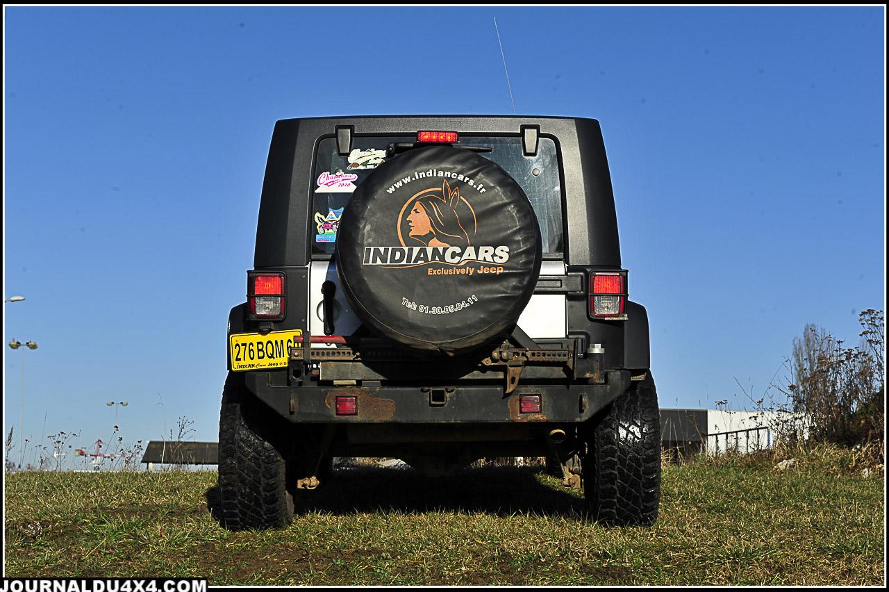 La Jeep Wrangler JK Unlimited d'origine