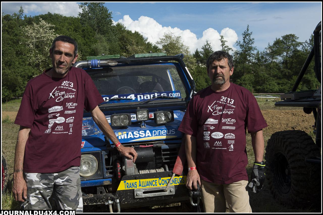6 13BT EURO 4x4 Gilles Toche et Patrick Gautier 3493 pts Suzuki