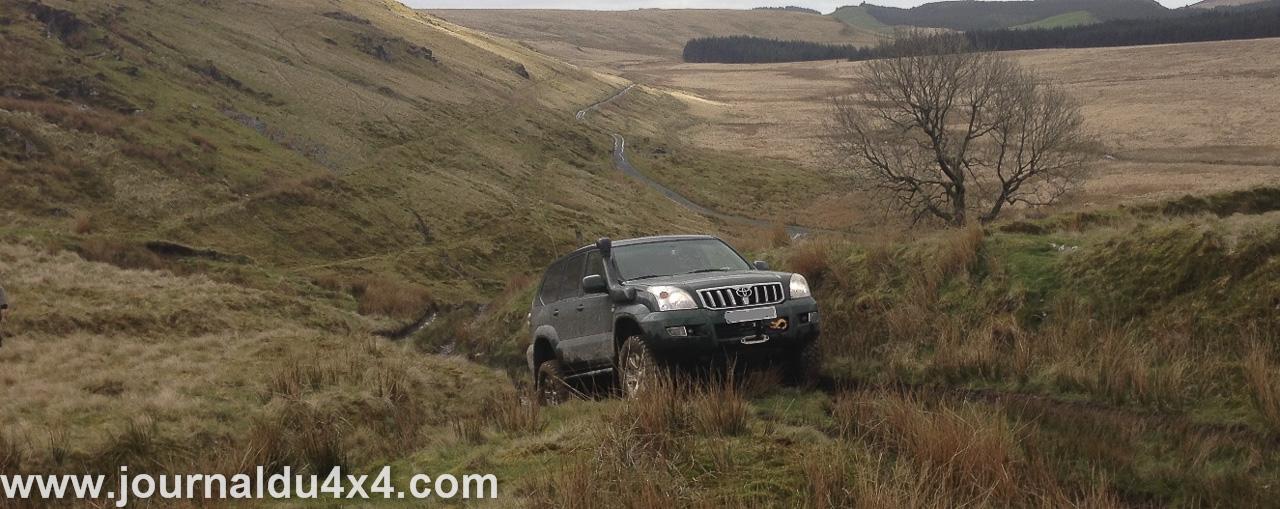 un minimum d'équipements suffit pour participer à ce beau voyage en 4x4 au Pays de Galles