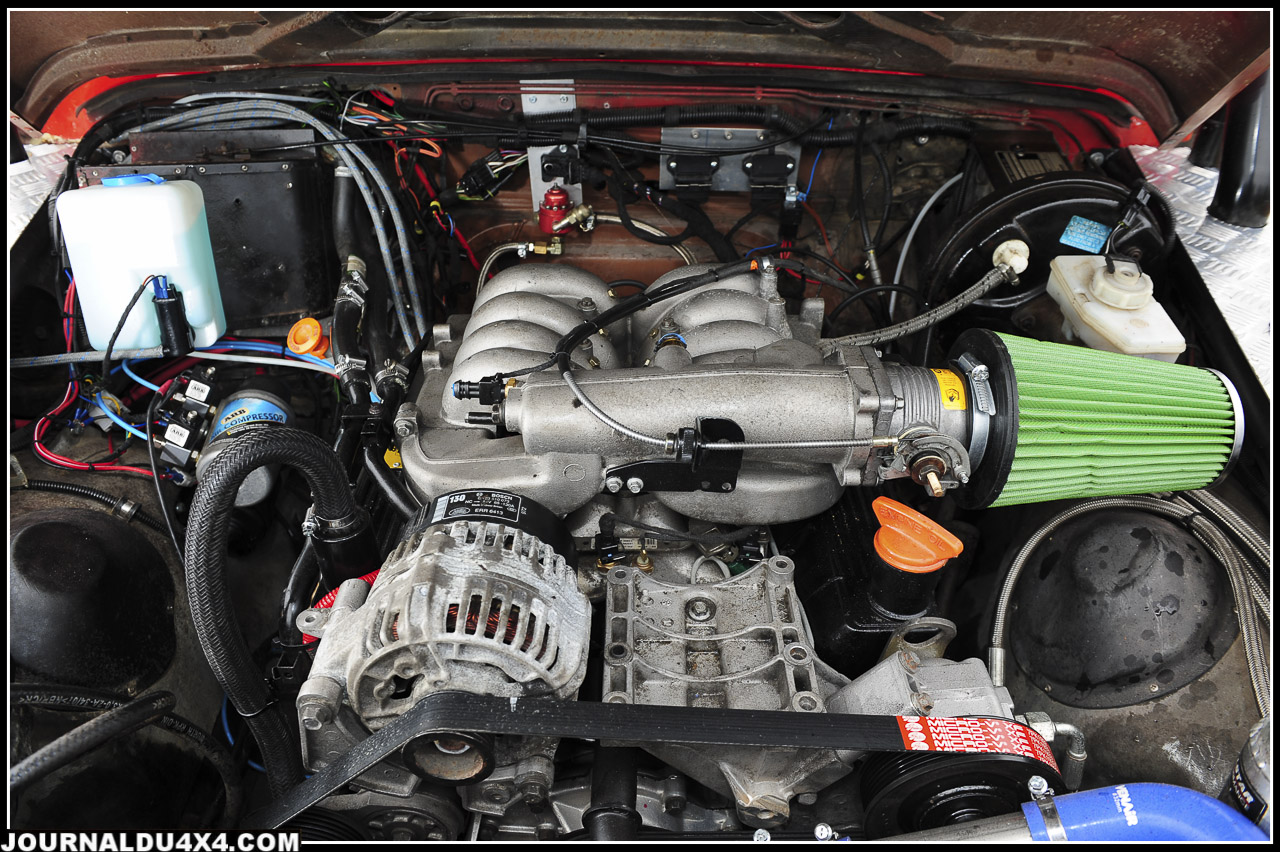 moteur Rover V8 de 4.6l  235 ch