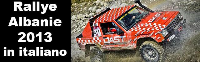 RALLY ALBANIA 7-14 giugno 2013