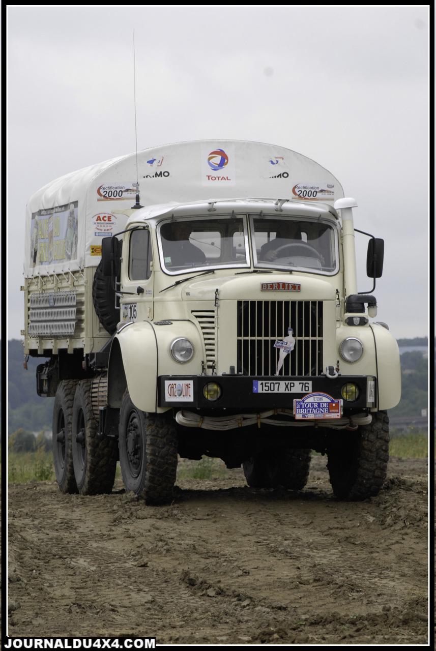 Missions Berliet-Ténéré - camion Berliet