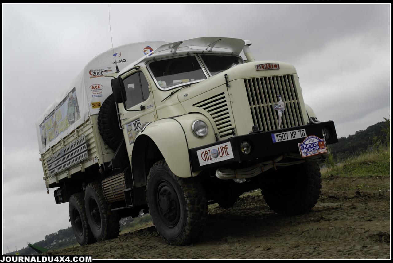Missions Berliet-Ténéré - camion Berliet Gazelle