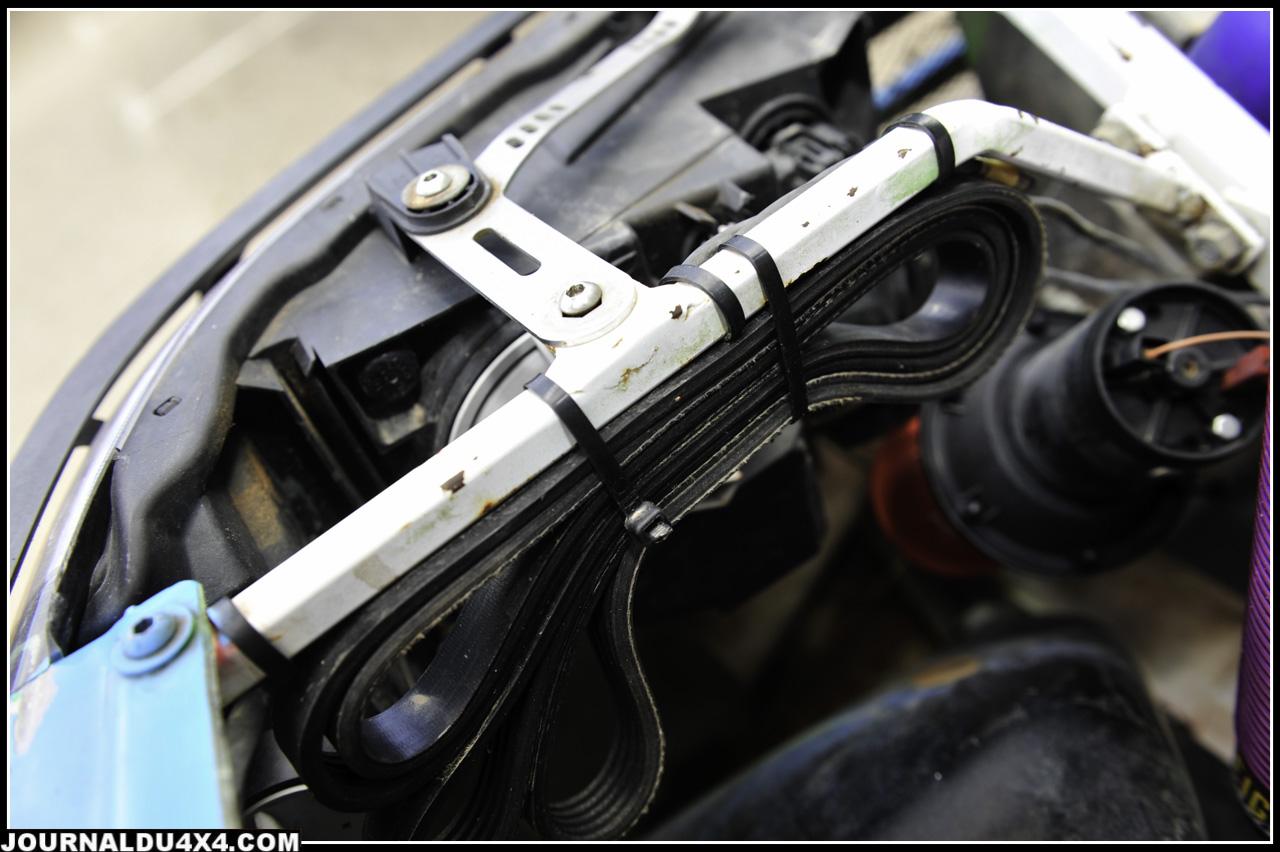 Filtre à air, boîtier de direction, système de frein et d'embrayage ont été fiabilisé depuis 10 ans.