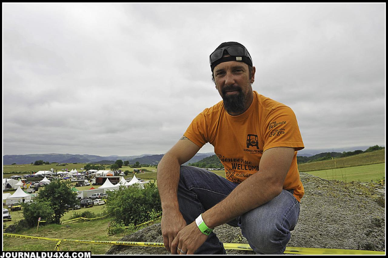 Vincent Roubin, en charge des zones trialisantes et du Canyon