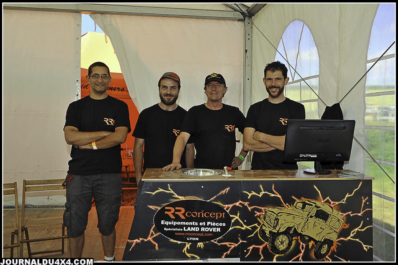 Rudy Roquesalane et son équipe était venu présenter ses dernières créations. RR Concept toujours au top!