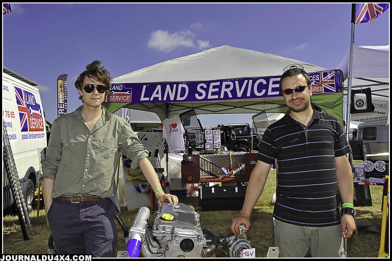 Thomas et Laurent de LAND SERVICE