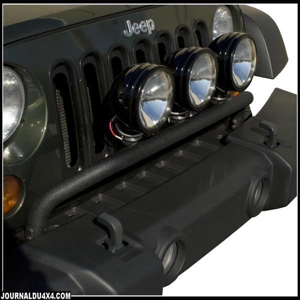 Support de phare Jeep JK pour pare choc