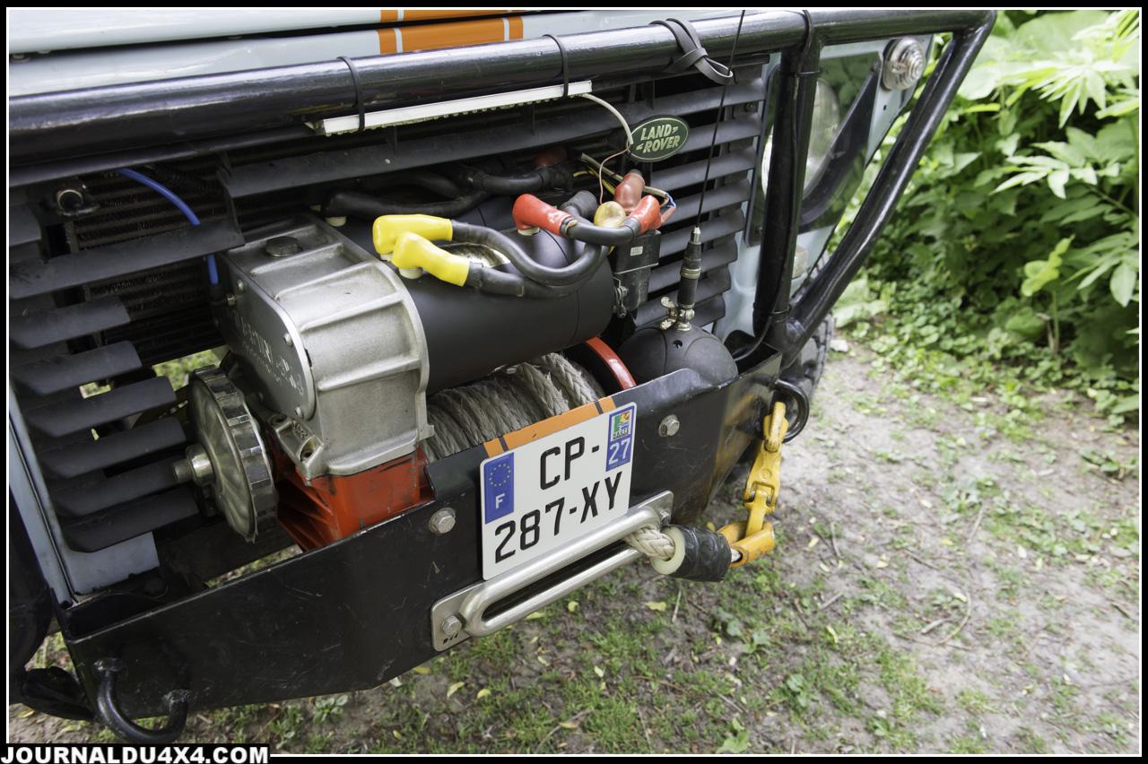 treuil Gigglepin avec deux moteurs EVO II de 6.8ch