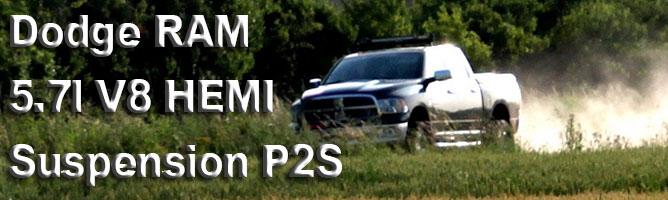 Dodge RAM suspension P2S : confort et performance