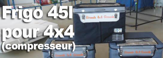 Frigos à compresseur  45 L