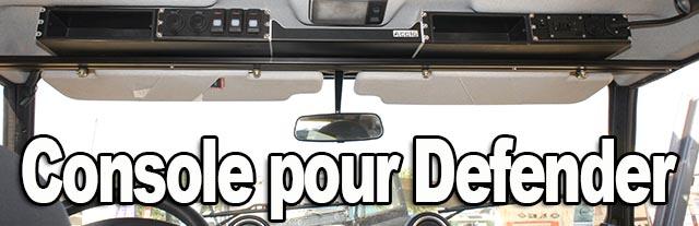 Console de toit pour Defender Acc16