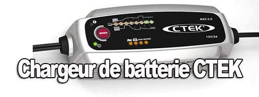 CTEK MXS 5.0 Chargeur de batterie et installation sur Defender