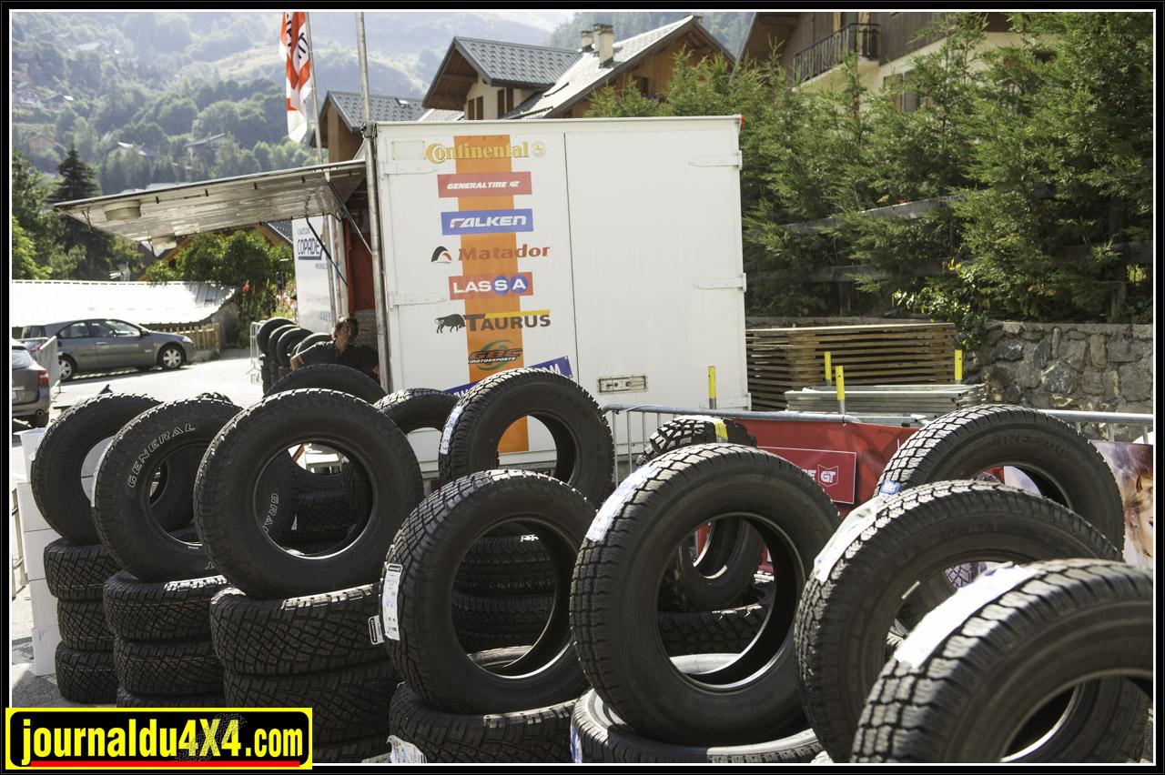 petit échantillon de pneu chez Copadex