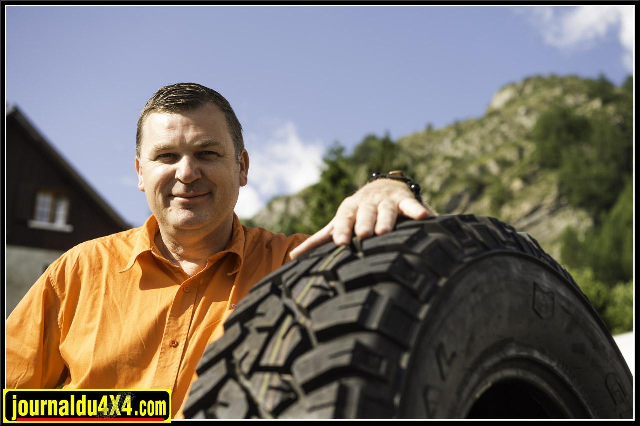 Thierry spécialiste du pneu chez Copadex