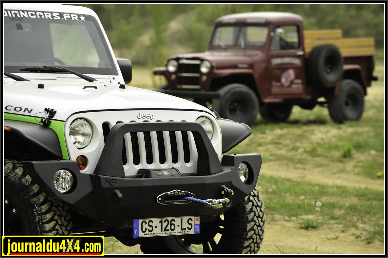 Chez Jeep, le pick up est une tradition…Aujourd'hui c'est une façon de faire la différence face à la marée des JK qui rôdent sur nos chemins.