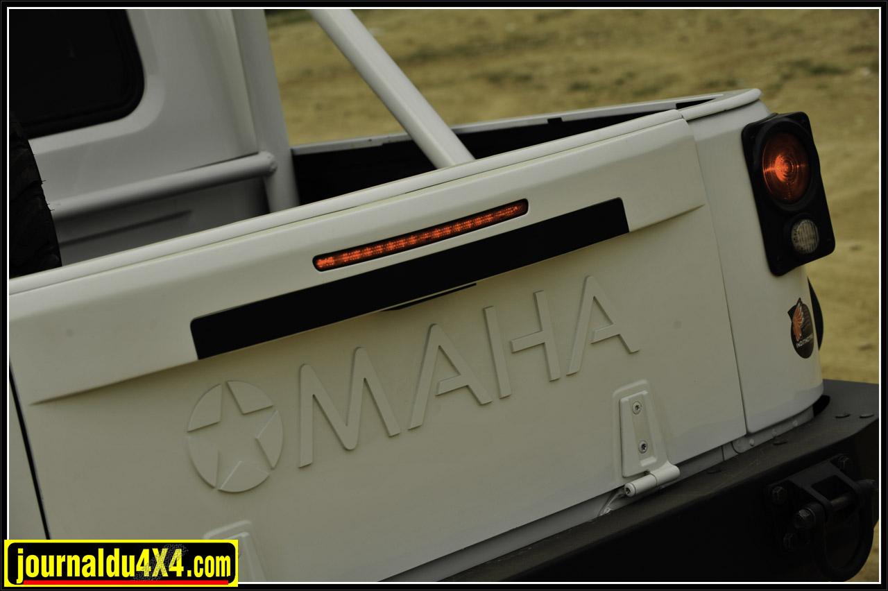 Le hayon arrière du kit Omaha est une exclusivité Indiancars.