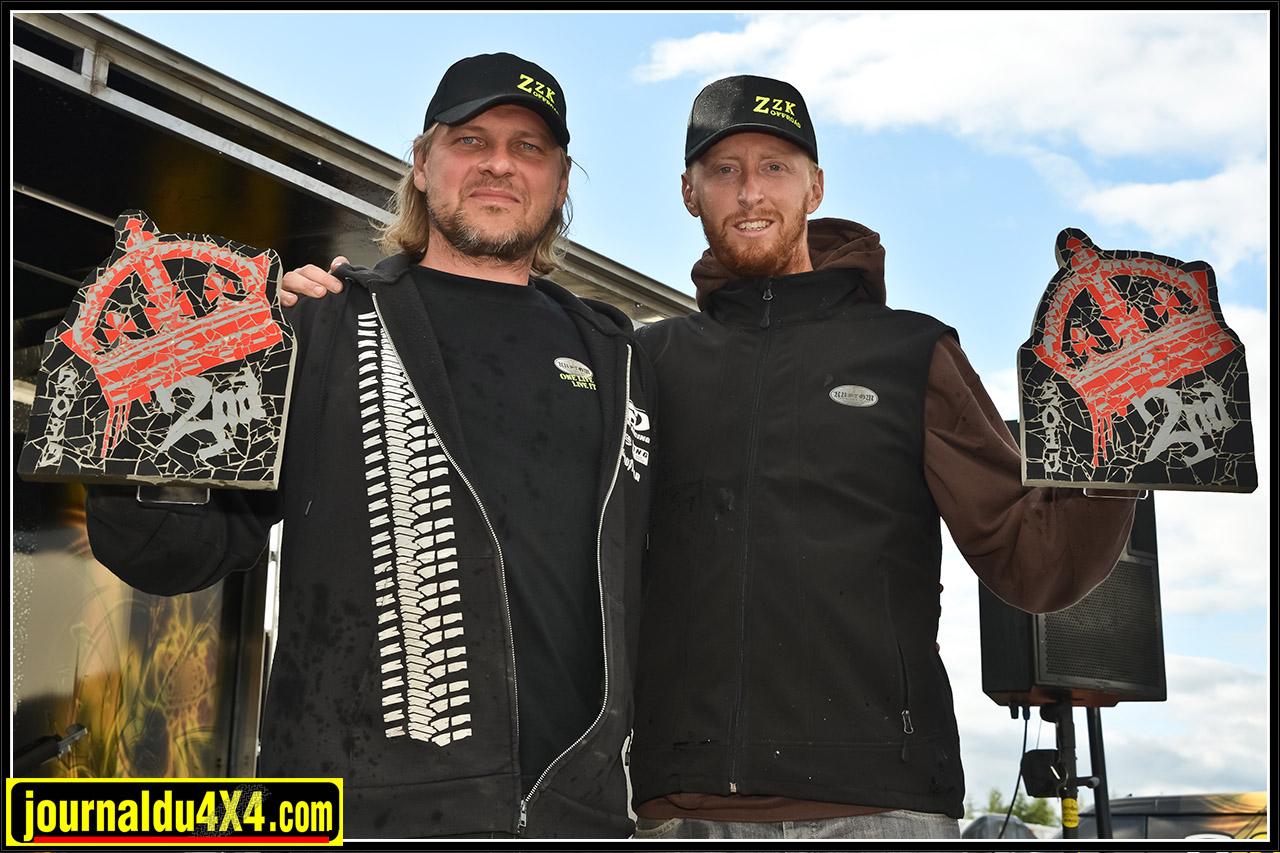 ZZ Kustom racing en deuxième position