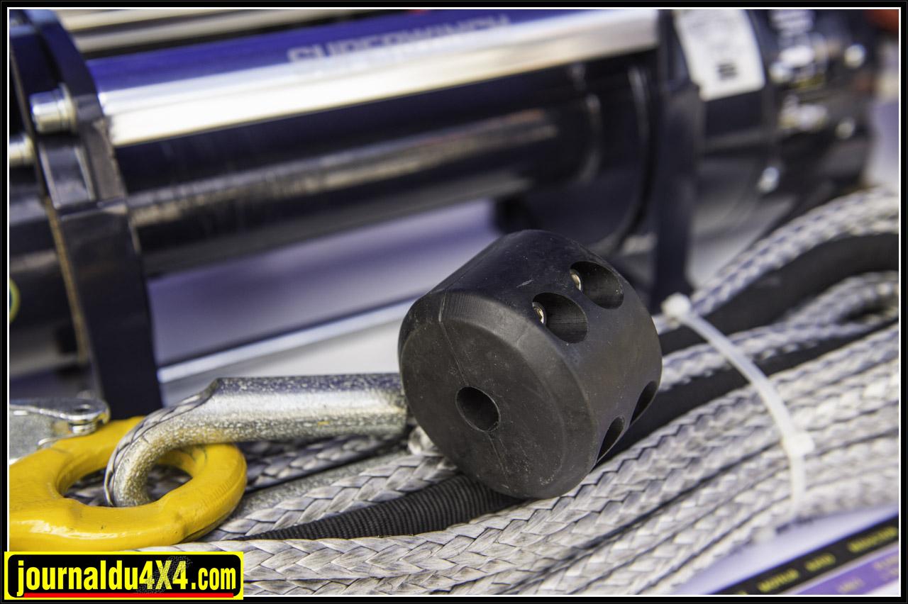 arrêt de cable de treuil