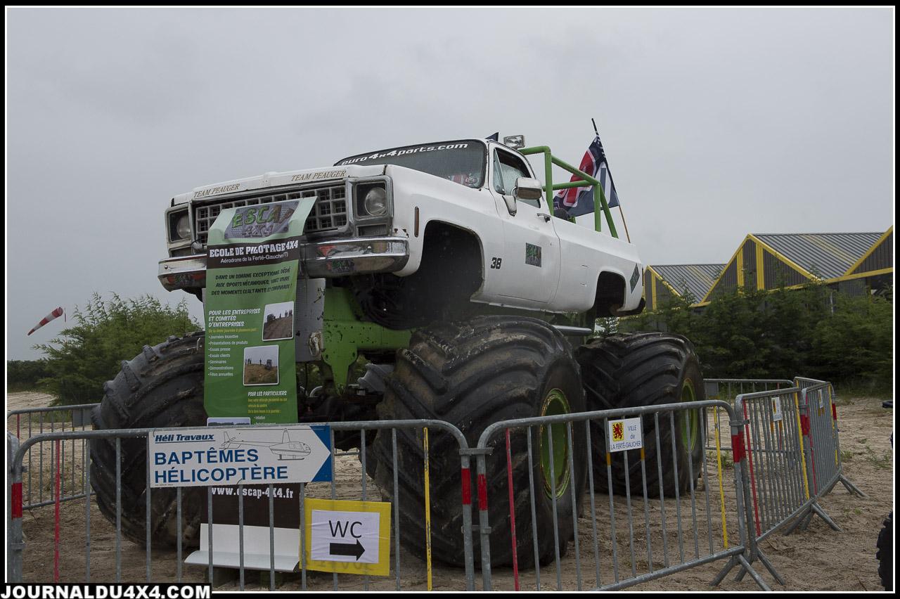 le monster truck de Pascal Peauger