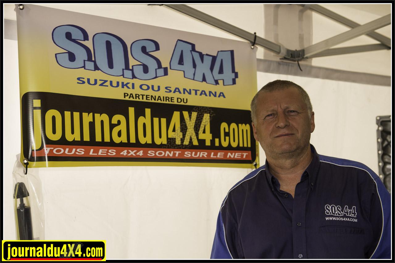 Gilles de SOS 4x4 est dune des références françaises chez Suzuki ou Santana