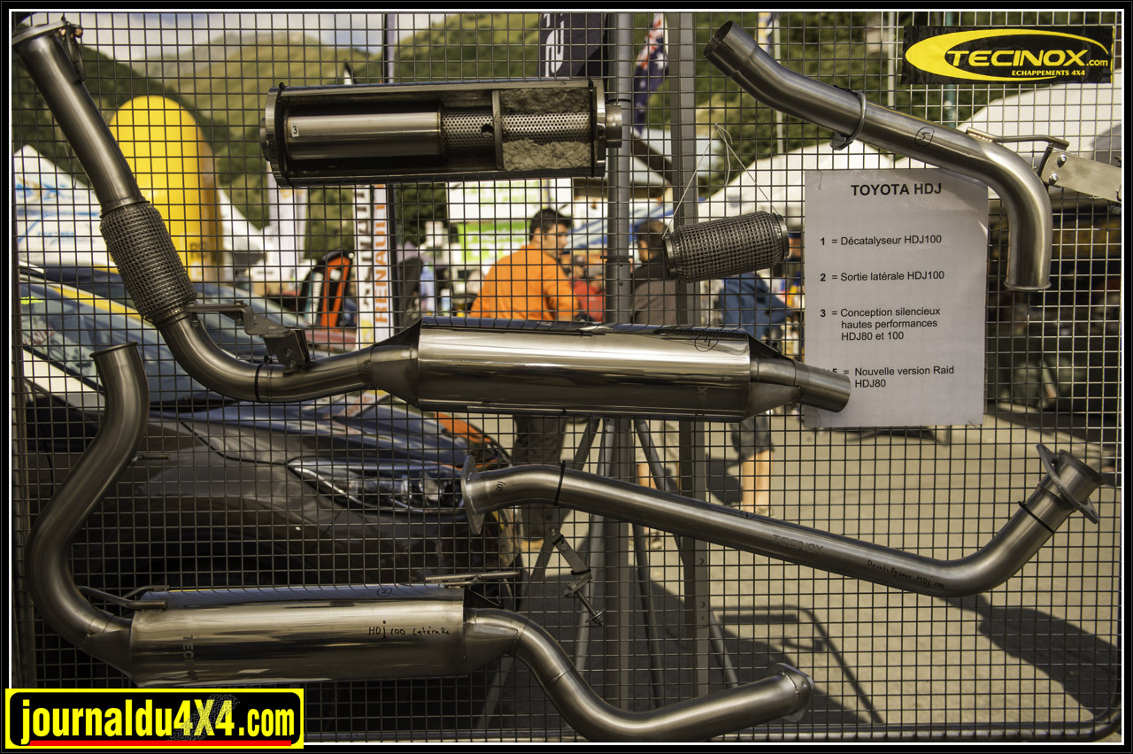 Tecinox chappement inox performance magazine 4x4 suv for Garage peugeot nemours
