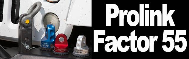 Factor55 Prolink – Hitchlink pour treuils