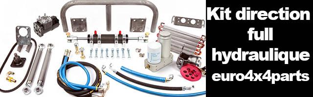 Kit direction full hydraulic
