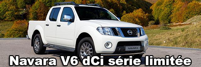 NAVARA V6 dCi Double-Cab édition limitée chez Nissan