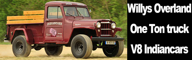 "Willys Overland "" One-Ton truck"" V8"