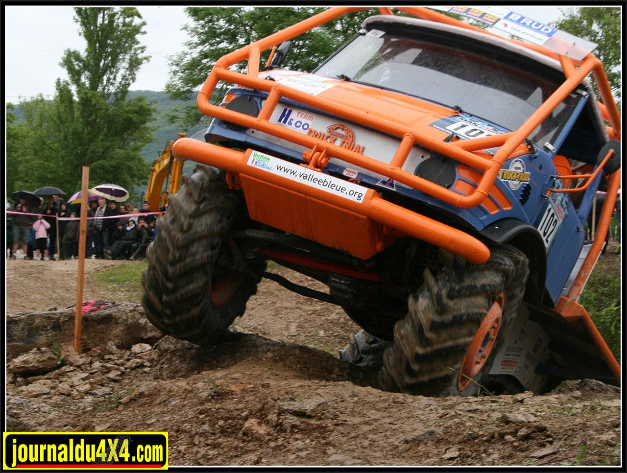 Un français champion d'Europe de Trial Camion !